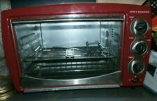 Cooks Essentials Power Convection Oven Electric Cooker Kitchen Red Appliance