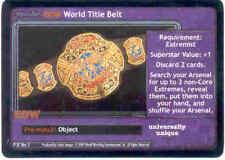 Raw Deal Revolution ECW World Title Belt Foil P-37 (played)
