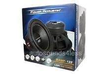 "Power Acoustik BAMF Series BAMF-122 3500 Watt 12"" Dual 2 Ohm Car Audio Subwoofer"