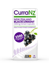 CURRANZ CAPSULES - 100% NATURAL NEW ZEALAND BLACKCURRANT - 30 Pack - SAVE 20%