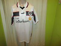 """Eintracht Frankfurt Puma Auswärts Trikot 1998/99 """"Viag Interkom"""" Gr.L TOP"""
