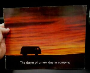 VOLKSWAGEN CAMPMOBILE 16-page ORIGINAL CAR SALES BROCHURE dawn of new day