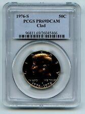 1976 S 50C Kennedy Half Dollar Proof PCGS PR69DCAM