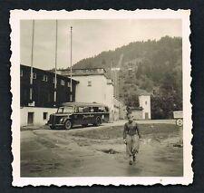 FOTO vintage PHOTO, Omnibus Oldtimer Auto car voiture /51