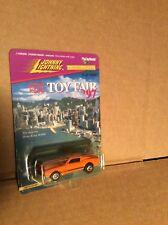 1968 Ford Shelby GT500 Arancione Johnny Lightning Auto 1/64 Hong Kong Giocattolo