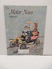 Vintage Motor News Magazine September 1967 Glidden Tours Antique Racing Article