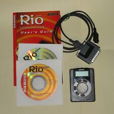 Vintage Diamond Rio Pmp300 Mp3 Player 32mb, with Accessories - Tested Working