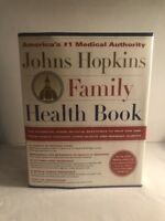 JOHNS HOPKINS FAMILY HEALTH BOOK 1st Edition ILLUSTRATED Hardcover REFERENCE