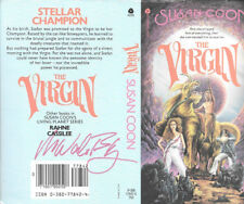 Ron Walotsky autographed this Susan Coon book cover