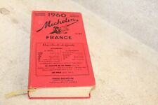 beau guide rouge Michelin France 1960  (voir photos)
