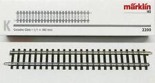 Märklin 2200 H0 - K- Gleis gerade 180mm NEU