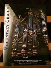 Voluntary choice recueil pièces pour orgue volume 7 Partition éditions Spartan