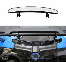 """15"""" Wide Rear View UTV Mirror with 1.75"""" Clamp for ROUND ROLL BAR Units Polaris"""