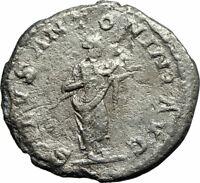 Rare genuine ancient Roman coin emperor Elagabalus 218AD Providence cornucopiae