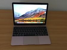 "MacBook 12"" Retina (2017) 1.2GHz 8gb 256GB PCIe MacOS High Sierra ROSS GOLD"