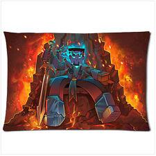 """Minecraft Herobrine Zippered Pillow Case 18""""x 26"""""""