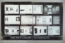 Jim Dine, Donald Judd, Julian Schnabel Pace Art Gallery Exhibit PRINT AD - 1992