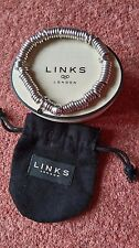 LINKS OF LONDON   SWEETIE BRACELET  X-LARGE  SIZE  EX CON  POUCH &  BOX INC