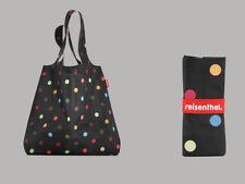 Mini Maxi Shopper By Reisenthel Dots AT7009 Foldable Shopper Shopping Bag