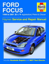 HAYNES SERVICE & REPAIR MANUAL Ford Focus Petrol & Diesel (98 - 01) S to Y