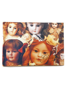 Dolls Cover Guest Book Sign-In Book Guest Registry New 60 Double Sided Pages