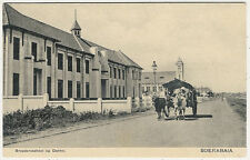 Indonesia, Dutch East Indies, Java, Surabaya, Soerabaia, Street Scene, School