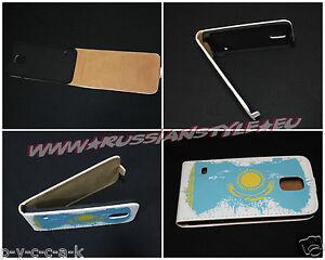 """Samsung Galaxy S6 Flip-Tasche Case Etui """"KASACHSTAN"""""""