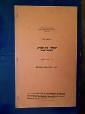 1941 WWII US Army Infantry School LOGISTICS TROOP MOVEMENT Benning GA Book