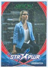 "FELICITY SMOAK OVERWATCH ""RED STAR POWER CARD #S08"" ARROW SEASON 4"