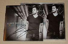 Luke Bryan Kill The Lights Australian Signed Autographed CD RARE New