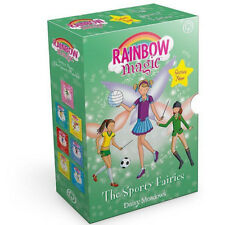 Daisy Meadows Rainbow Magic Sporty Fairies Collection 7 Books Box Set UK PB NEW