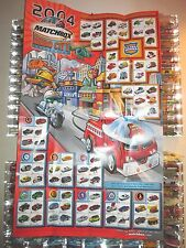 "Factory Folded Matchbox 1-75 Superfast 2004 HERO CITY Wall Poster, 25""x40"" NEW*"