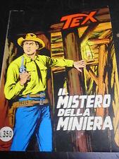 TEX n° 187 IL MISTERO DELLA MINIERA - ORIGINALE - OTTIMO - PERFETTO!!!