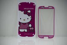 Nuevo newmond Lindo De Hello Kitty Bolsas Cristal Film Protector De Pantalla Para Samsung S3