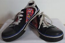 z- SHOES CHILDS SZ 10 TRIPLE HERO MARVEL CANVAS LACE UP SNEAKERS