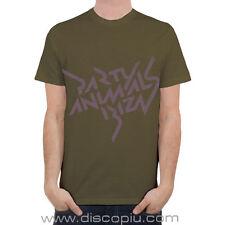 T-shirt 100% cotone COCOON IBIZA PARTY ANIMALS olive NEW maglia x DJ taglia S