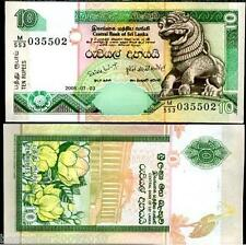 SRI LANKA 10 Rupees  RARE ITEM UNC  # 152