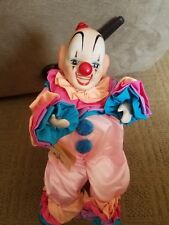 Victoria Impex Corp. Porcelain Clown Musical Bring in the Clowns Motion