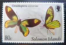 Solomon Islander Butterflies Australian & Oceanian Stamps