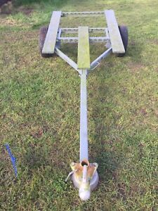 Boat Trailer sturdy 3meters length. Used needs a lick of paint.