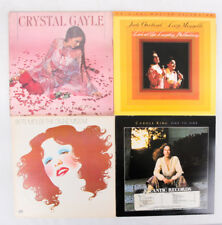 Instant collection! Great Woman Singers LP Record Lot of 4. Midler, Gayle, King