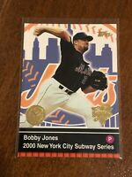 2000 World Series Topps Baseball Base Card #19 - Bobby Jones - New York Mets
