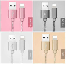 Fast Charger Braided 6 ft USB Sync Cable For iPhone 5 6 7 8 X XR XS XS Max