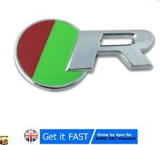 For Jaguar R Chrome Badge Emblem Logo Sticker XKR XJR XFR XJ XK XF S Type X T R