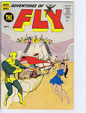 Adventures of the Fly #8 Archie Pub  1960 1st SA Shield