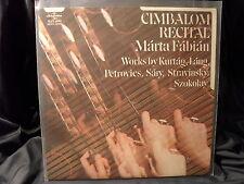 Márta Fábián - Cimbalom Recital / Works by Kurtág, Láng, Petrovics etc.