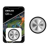 Round Metal Gamepad Game Joystick Trigger Controller Shooter For PUBG Mobile