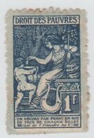 France Theater Cinderella revenue fiscal Stamp 10-7-19