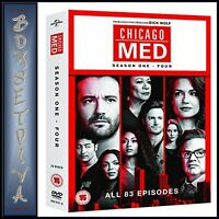 CHICAGO MED COMPLETE SEASONS 1 2 3 & 4  ** BRAND NEW DVD BOXSET***