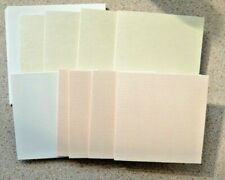 9 Pearl Single Fold Textured Card Blanks & white Envelopes 89mm SQ